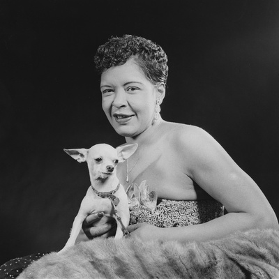 Billie Holliday - 1957 Photographic Print by Issac Sutton