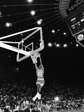 Michael Jordan 1988 Photographic Print by Guy Crowder