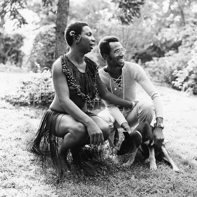 Nina Simone - 1971 Photographic Print by G. Marshall Wilson