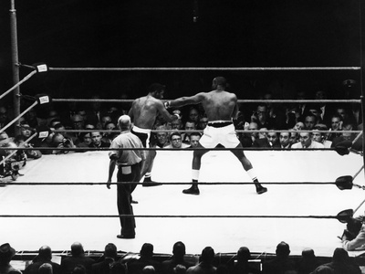 Floyd Patterson and Charles (Sonny) Liston - 1962 Photographic Print by Lacey Crawford