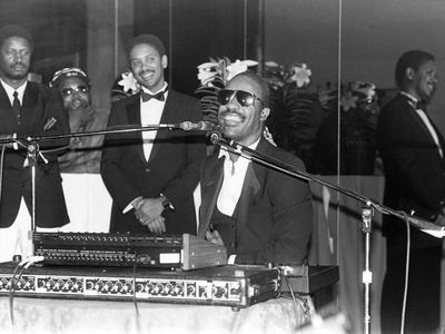 Stevie Wonder Photographic Print by Ozier Muhammad
