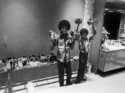 Michael Jackson, JPC - 1972 Photographic Print by Isaac Sutton