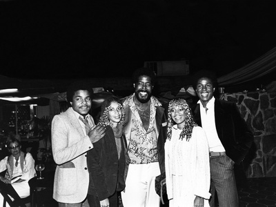 Barry White - 1980 Photographic Print by Guy Crowder