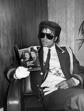 Michael Jackson Photographic Print by Bob Johnson