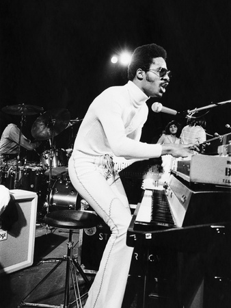 Stevie Wonder - 1974 Photographic Print by Leroy Patton