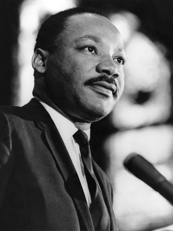 Dr. Martin Luther King Jr. Photographic Print by Staff Photography