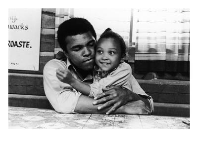 Muhammad Ali; Maryum Ali - 1974 Photographic Print by Leroy Patton