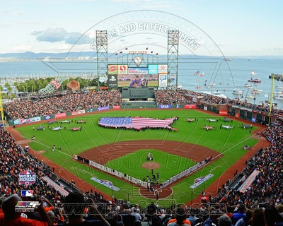 AT&T Park Game 1 of the 2012 MLB World Series Photo