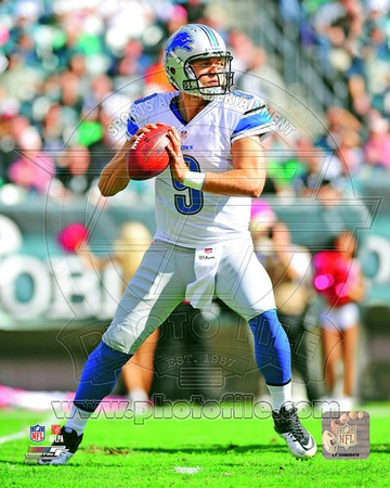 Matthew Stafford 2012 Action Photo