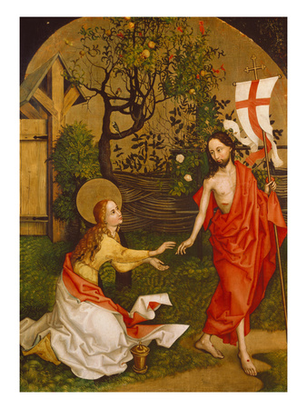 Noli Me Tangere, 1462/1465. Altartafel Der Dominikanerkirche Giclee Print by Martin Schongauer