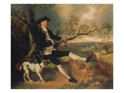 Portrait of John Pamplin. Probably About 1752 Giclee Print by Thomas Gainsborough