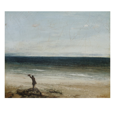 The Seashore at Palavas, 1854 Giclee Print by Gustave Courbet