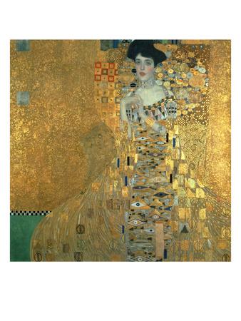 Portrait of Adele Bloch-Bauer I., 1907 Giclee Print by Gustav Klimt