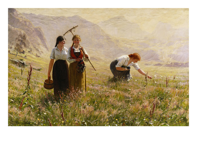 Summer's Day in Norway Giclee Print by Hans Dahl