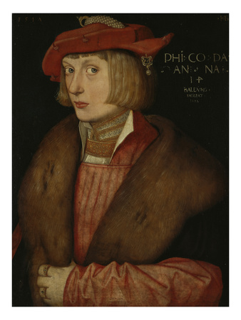 Philip the Warlike, Count Palatine, 1517 Giclee Print by Hans Baldung Grien