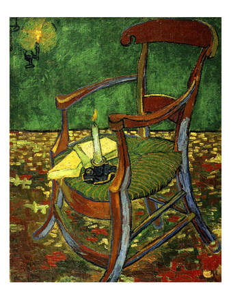 Gauguin's Chair (With Candle), 1888 Giclee Print by Vincent van Gogh