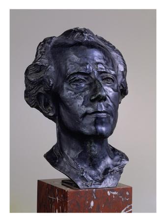 Gustav Mahler, 1909 Giclee Print by Auguste Rodin