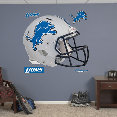 Detroit Lions Revolution Helmet Wall Decal