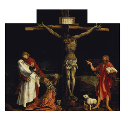 Isenheimer Altar. First Right Side, Centre Panel: Crucifixion Giclee Print by Matthias Grünewald
