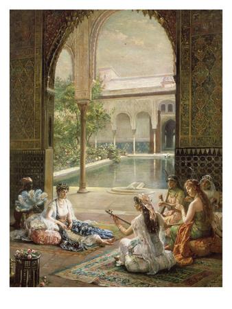 Die Sultanin, 1901 Giclee Print by Filippo Baratti