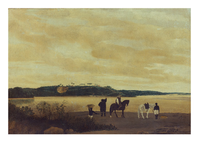 The Island Itamaraca, 1637 Giclee Print by Frans Post