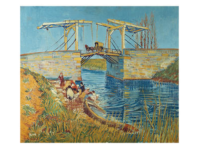 The Draw Bridge, Arles (Le Pont De Langlois), 1888 Giclee Print by Vincent van Gogh