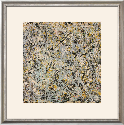 No. 4, 1949 Art by Jackson Pollock
