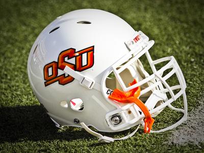 Oklahoma State University: OSU Football Helmet Photo
