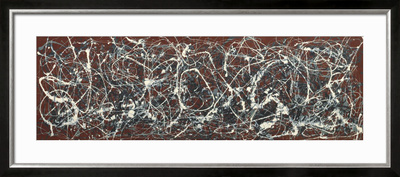 Number 13A: Arabesque Print by Jackson Pollock