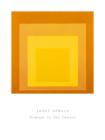 Homage To The Square Art by Josef Albers