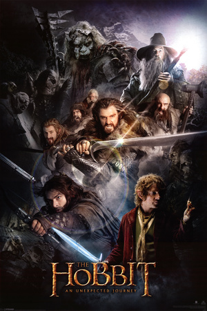 The Hobbit-Dark Montage Posters