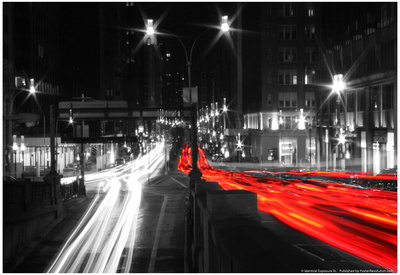 Park Avenue Timelapse NYC Prints