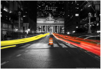 Grand Central Terminal Timelapse NYC Poster