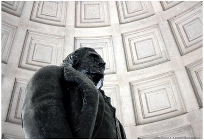 Thomas Jefferson Statue Washington DC Prints