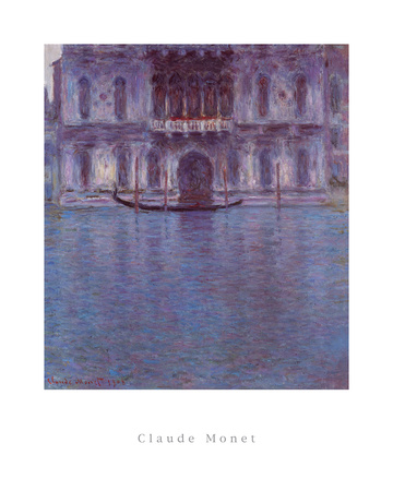 Palazzo Contarini Posters by Claude Monet