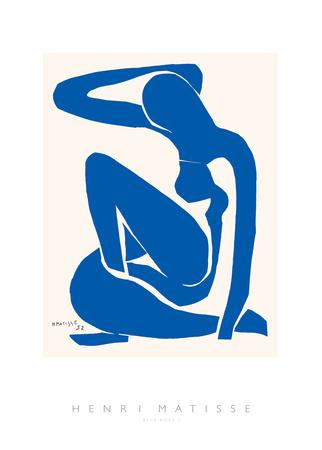 青い裸体 高画質プリント : アンリ・マティス