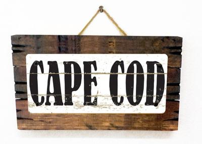 Cape Cod Vintage Wood Sign
