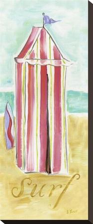 Hut Stuff II Stretched Canvas Print by Jennifer Sosik