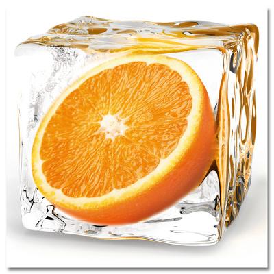 Orange Cube Print