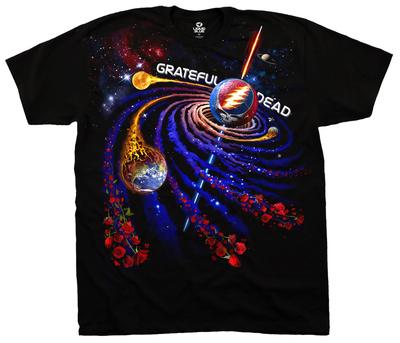 Grateful Dead - Steal Your Orbit T-shirts