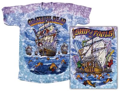 Grateful Dead - Ship Of Fools T-Shirt