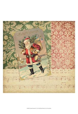 Victorian Christmas IV Print