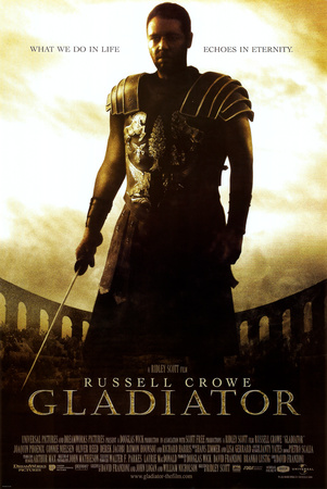 Gladiator Movie (Russell Crowe, What We Do In Life) Prints