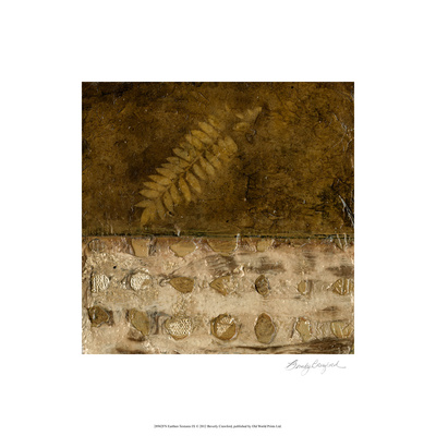 Earthen Textures IX Limited Edition by Beverly Crawford