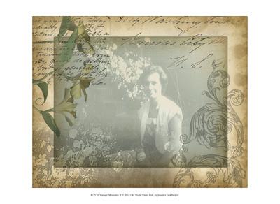 Vintage Memories II Posters by Jennifer Goldberger