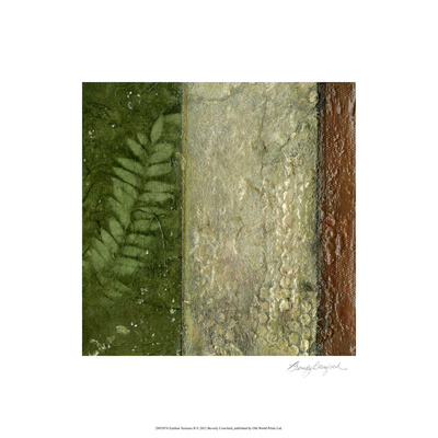 Earthen Textures II Limited Edition by Beverly Crawford
