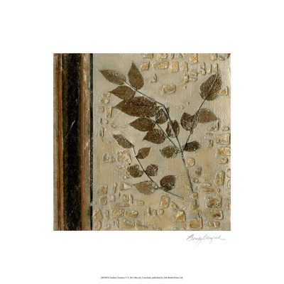Earthen Textures V Limited Edition by Beverly Crawford