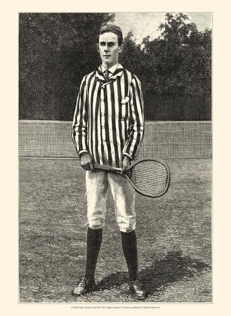 Harper's Weekly Tennis III Prints