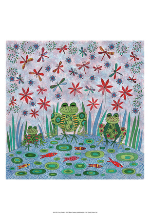 Frog Pond Poster by Kim Conway