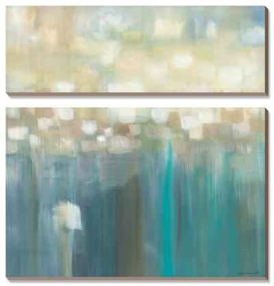 Aqua Light Prints by Karen Lorena Parker